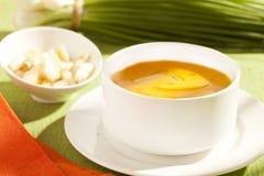 Tasse fraîche de pièce en t de citron Photos stock
