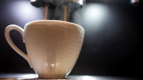 Tasse Kaffee stock video footage