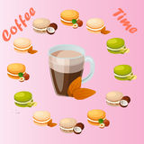 Tasse Kaffee stock abbildung