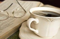 Tasse Kaffee, entspannen sich Zeit Stockfotografie