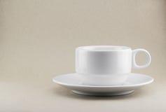 Tasse Kaffee oder Tee Stockfotografie