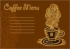 Tasse Kaffee - Vektorikonensatz Lizenzfreies Stockfoto