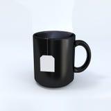 Tasse noire Image stock