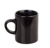 Tasse noire Photos stock