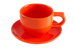 Tasse orange Photo stock