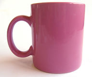Tasse rose #3 photographie stock