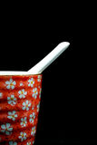 Tasse rose de porceline Image stock