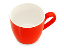 Tasse rouge Photo stock