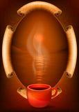 Tasse rouge Image stock