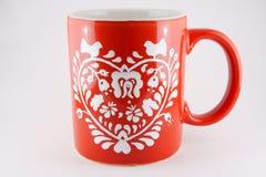 Tasse rouge Photographie stock libre de droits
