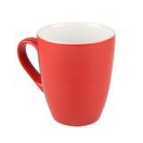 Tasse rouge photo libre de droits