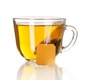 Tasse Tee getrennt Lizenzfreies Stockfoto