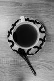 Tasse Tee und Löffel Rebecca 6 lizenzfreie stockfotos