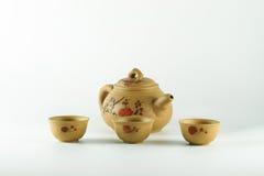 Tasse Tee und Teekannen. Stockfotos