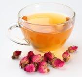 Tasse Tee und Terosen. stockfoto