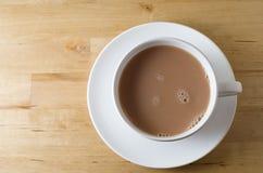 Tasse Tee von oben Stockbilder