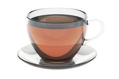 Tasse Tee, Wiedergabe 3D Stockfotografie