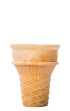 Tasse vide I de cornet de crème glacée Photos stock