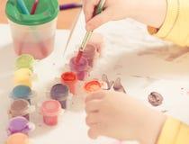 Tassel в краске Стоковое Изображение