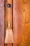 Tassel on Door Pull. A golden tassel on a cabint door pull Stock Photos