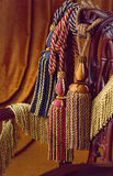 Tassels da cortina Foto de Stock Royalty Free