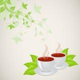Tassen Tee Lizenzfreies Stockbild