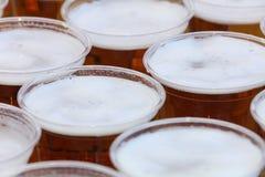Tasses de bière Image libre de droits