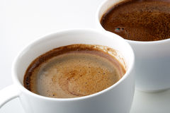 Tasses de café Photos libres de droits