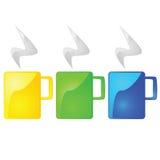 Tasses de café Image libre de droits
