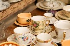 Tasses de café turc pour la décoration Photo libre de droits