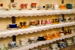 Tasses de café turc pour la décoration Images libres de droits