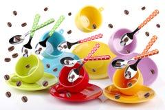 Tasses de café Photo stock