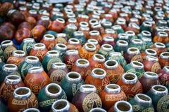 Tasses de compagnon Images stock