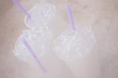 Tasses de glace Images libres de droits