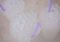 Tasses de glace Photo libre de droits