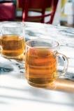 Tasses de thé Photos libres de droits