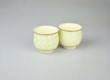 Tasses de thé chinoises Photos stock