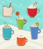 Tasses de vacances Image stock