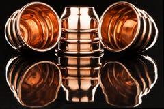 Tasses et boules magiques Photographie stock libre de droits