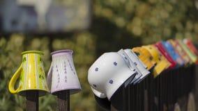 Tasses faites main Images libres de droits