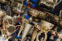 Tasses pour des gagnants Image libre de droits