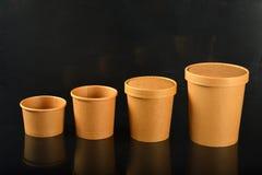 Tasses sanitaires Photographie stock