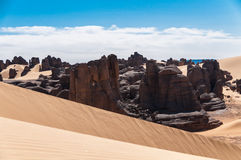 Tassili Ahaggar Royalty Free Stock Photo