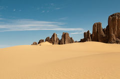 Tassili Ahaggar Royalty Free Stock Images