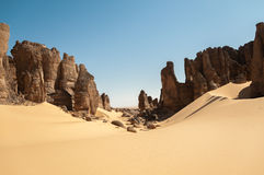Tassili Ahaggar Stock Photography