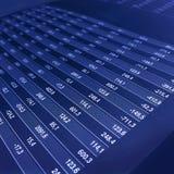 Tasso di indice analitico del diagramma immagini stock libere da diritti