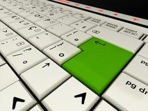 Tastatur übertragen Lizenzfreie Stockbilder