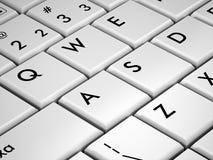 Tastatur übertragen Lizenzfreies Stockfoto