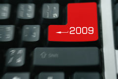 Tastatur 2009 Lizenzfreie Stockfotos