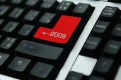 Tastatur 2009 Lizenzfreie Stockfotografie